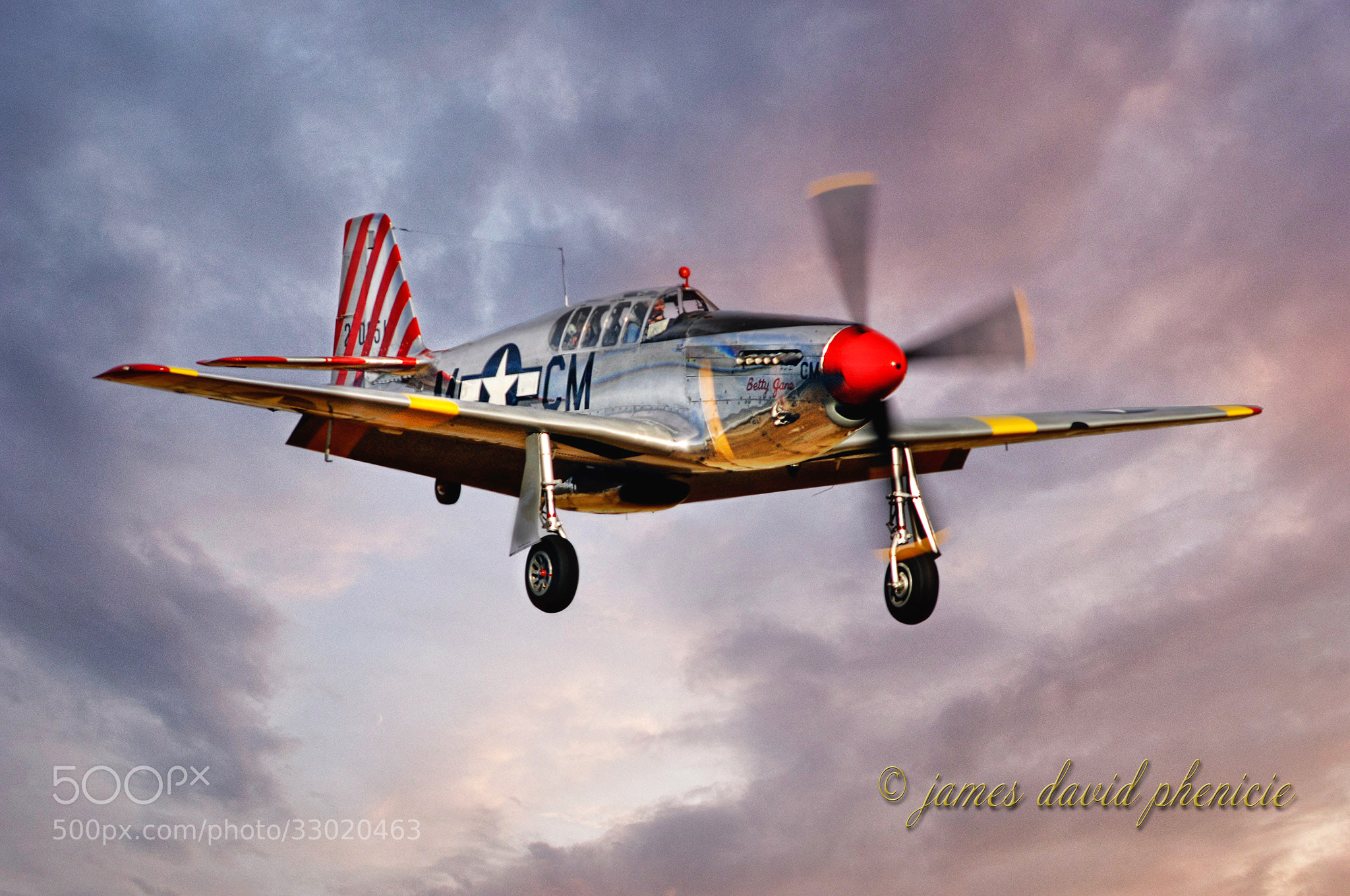 Photograph Aircraft Series: Betty Jane by James David Phenicie on 500px