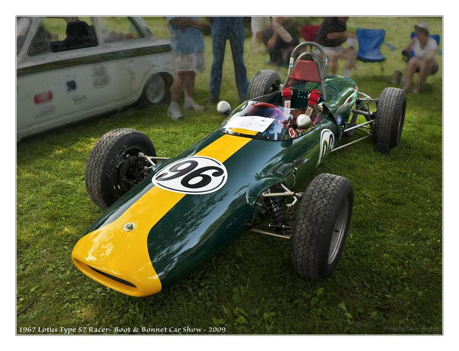 1967 Lotus 57 Formula Racer