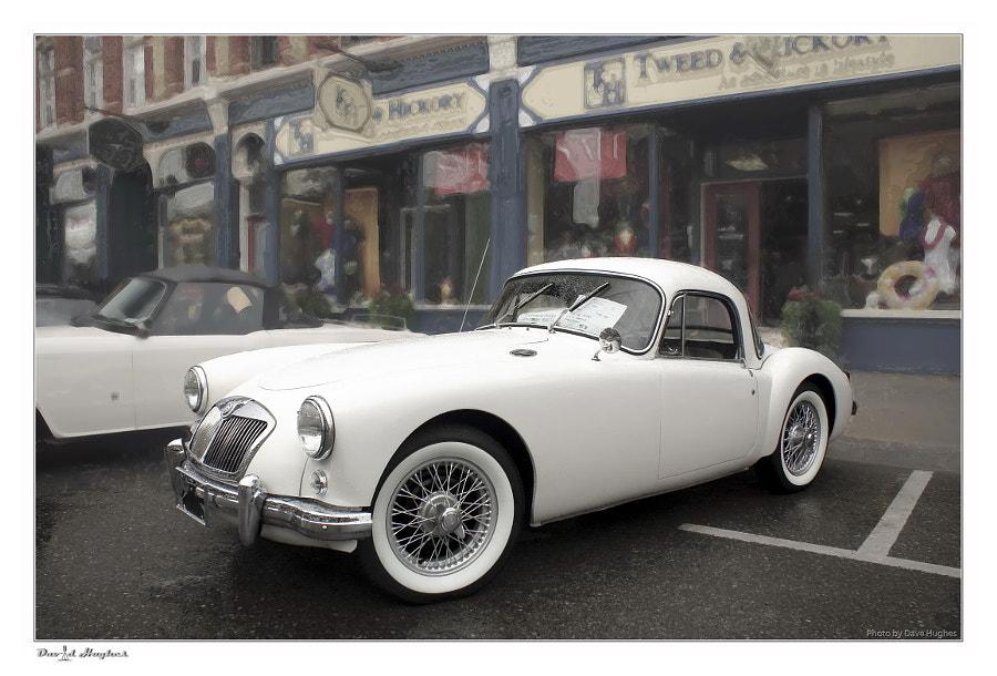 1957 MGA Coupe'
