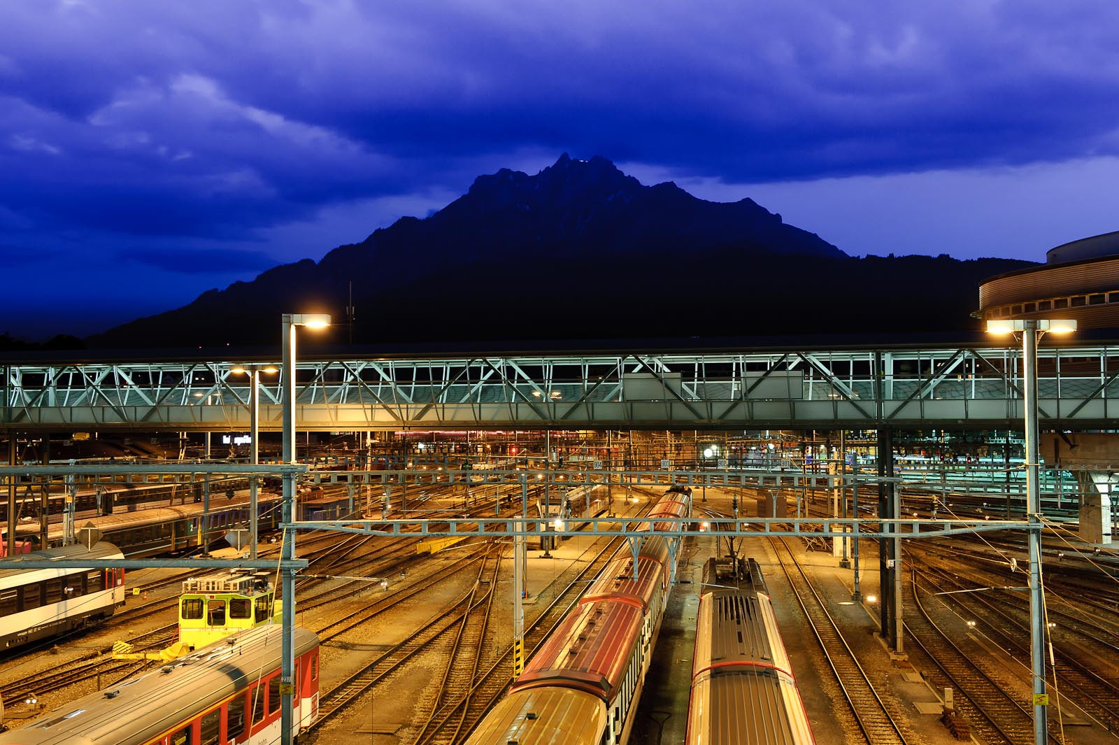 Photograph Central Station Lucerne by Martin Weibel on 500px