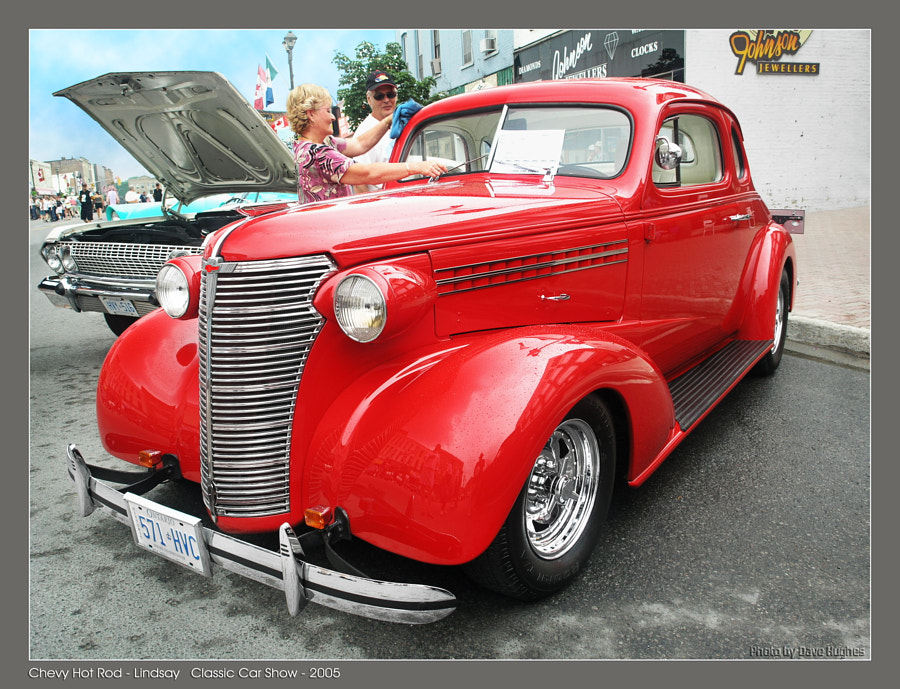 1938 Chev Custom Coupe'