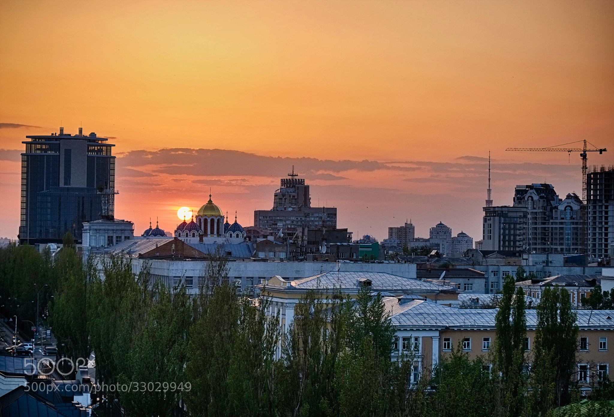 Photograph Kiev sunset by world_image on 500px