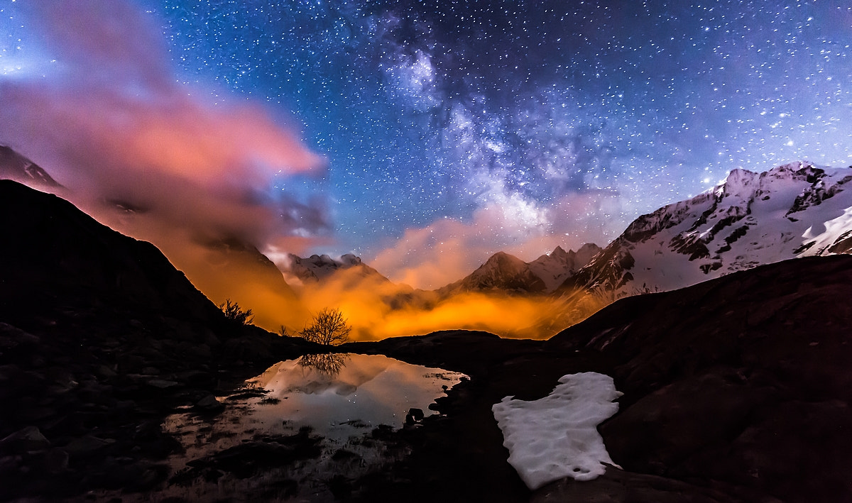 Photograph Milky way on Ecrins by Joris Kiredjian on 500px