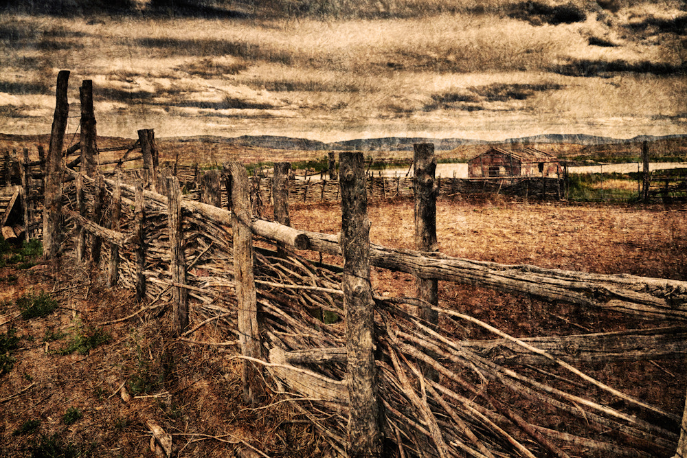 Photograph Ranch Fence by Ric Peterson on 500px