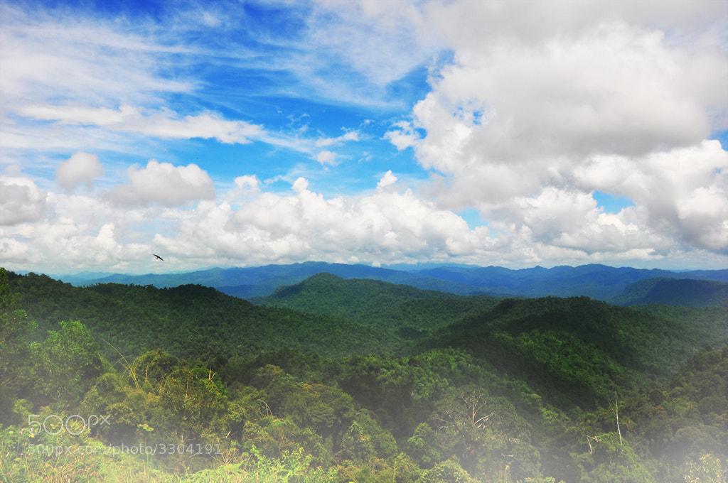 Photograph At The Top Of Banjaran Titiwangsa by Firdaus Radzi on 500px