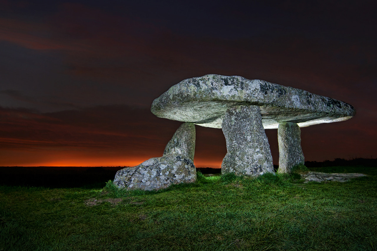 Photograph Lanyon Quoit by night by Stefan Cruysberghs on 500px