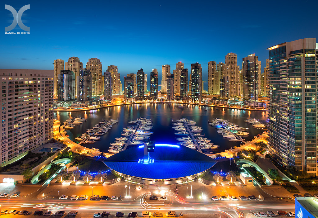 Photograph Glittering Marina by Daniel Cheong on 500px