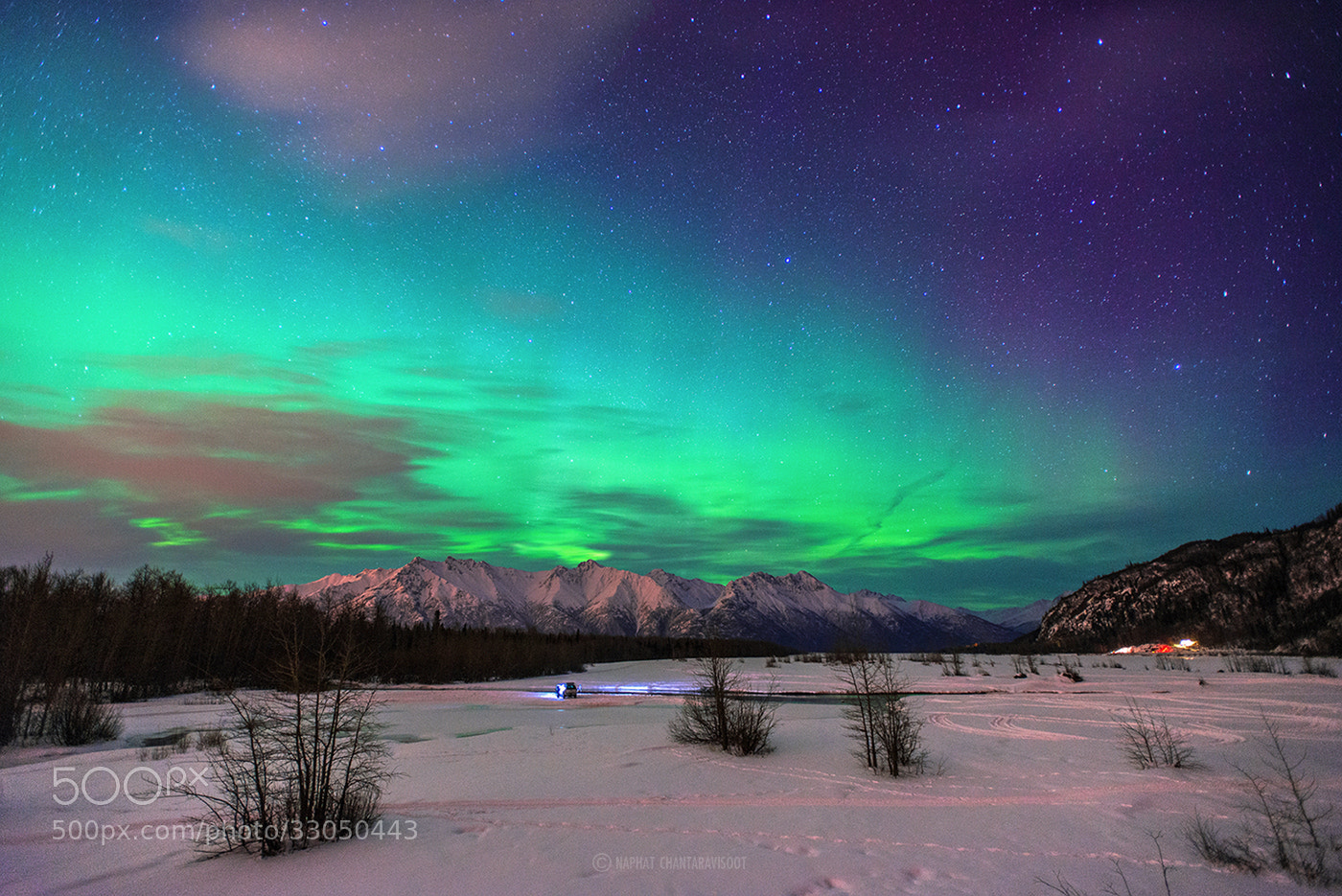 Photograph Green Sky  by Nae Chantaravisoot on 500px