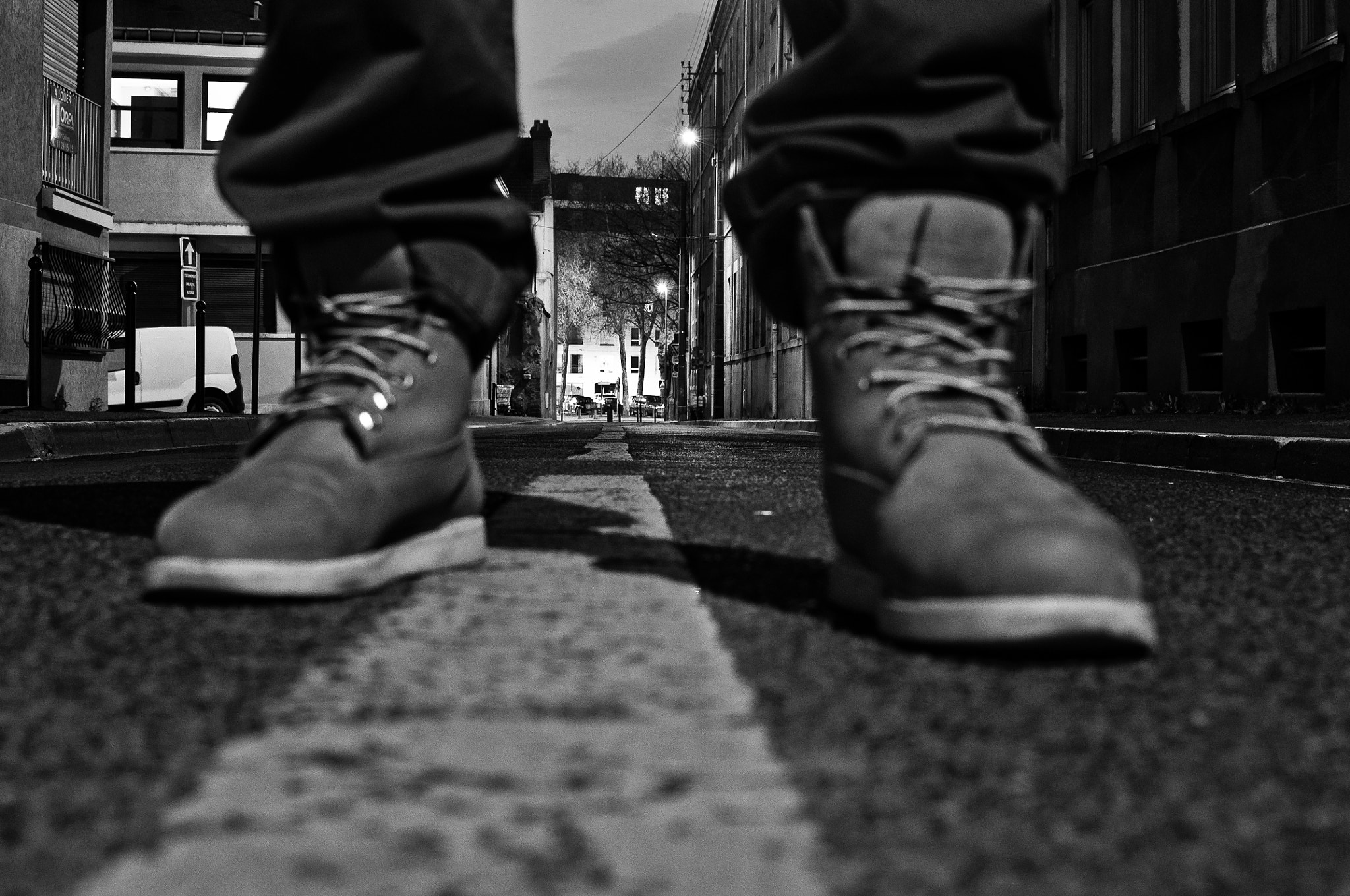 Photograph Shoes on the street by Nabil BACHIR-CHERIF on 500px