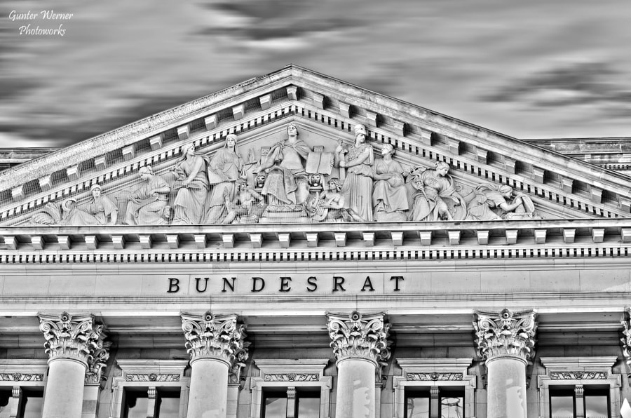 Photograph bundesrat germany by Gunter Werner on 500px