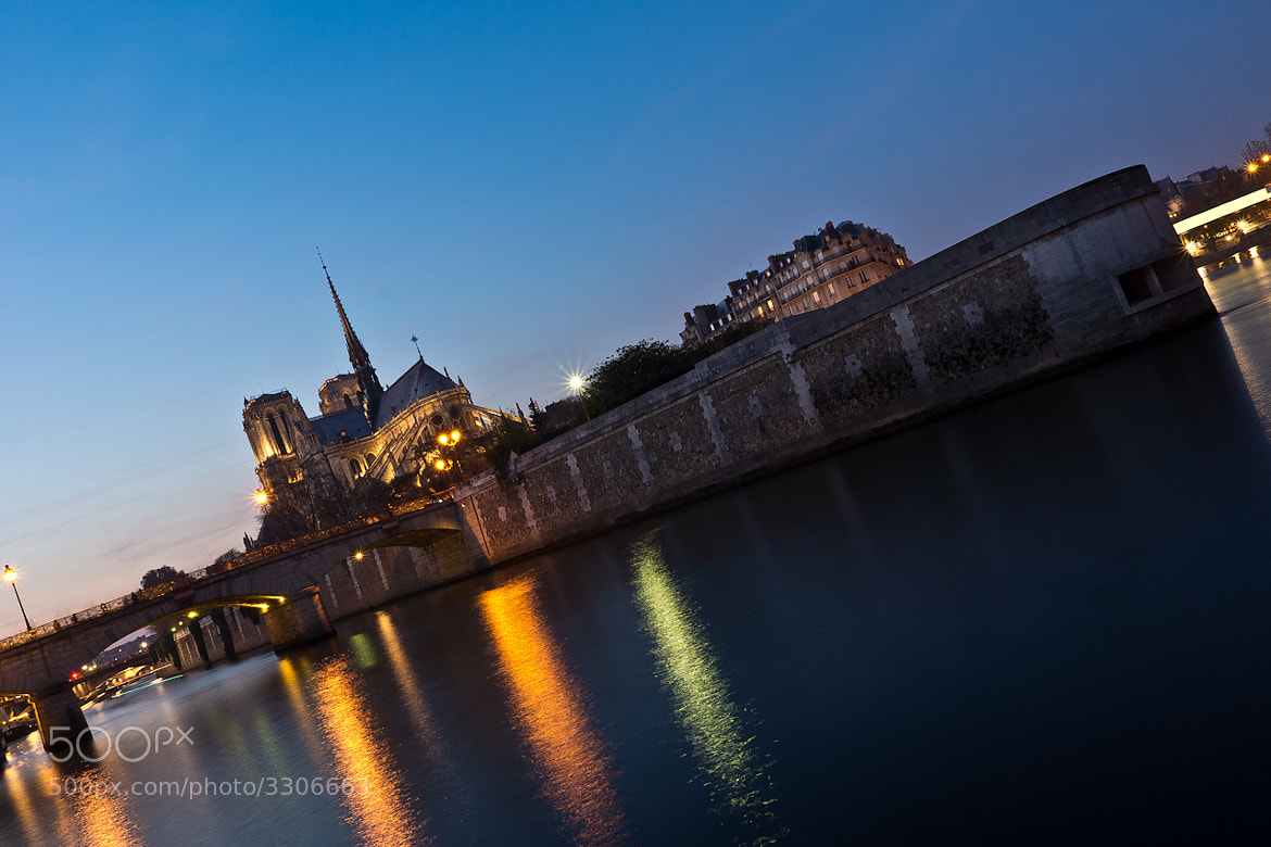 Photograph Notre-Dame by Night by Mohamed Khalil El Mahrsi on 500px