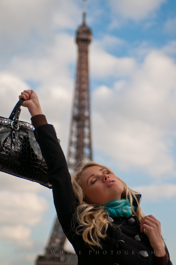 Photograph Jennifer in Paris by Terry White on 500px