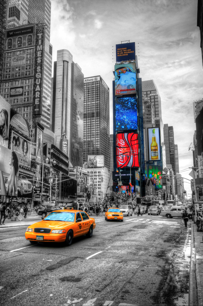 Photograph Big Yellow Taxi by Tony Jones on 500px