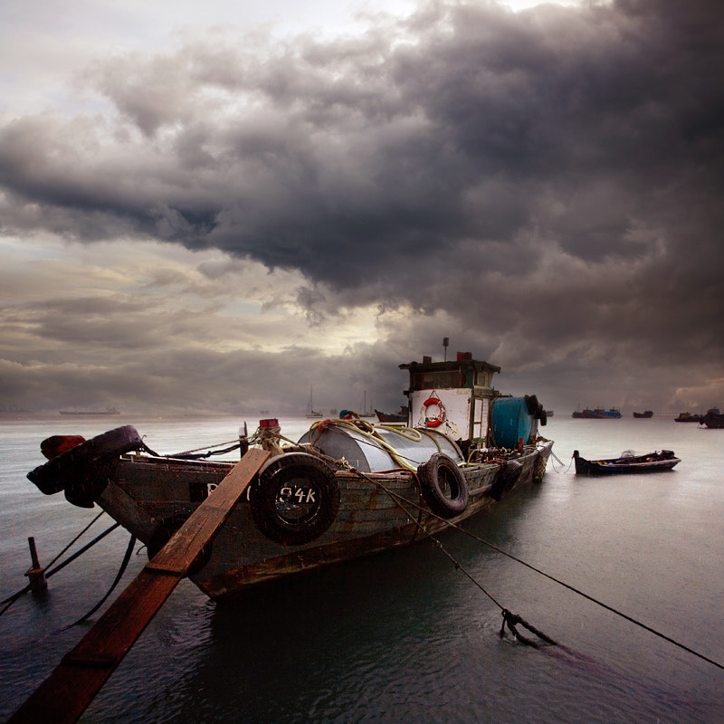 Photograph Penang Harbour by Manuel Lao on 500px