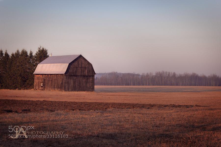 Photograph Farmer's Solitude by Joe Ayotte on 500px