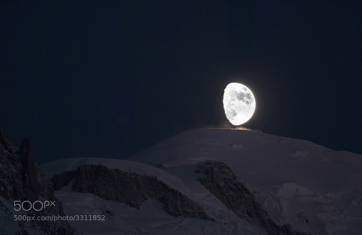 Photograph **REAL** Moon landing on Mt Blanc by George Rogers on 500px