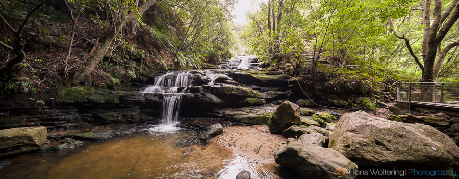 Photograph Blue Mountains Waterfall by Hans Woltering on 500px