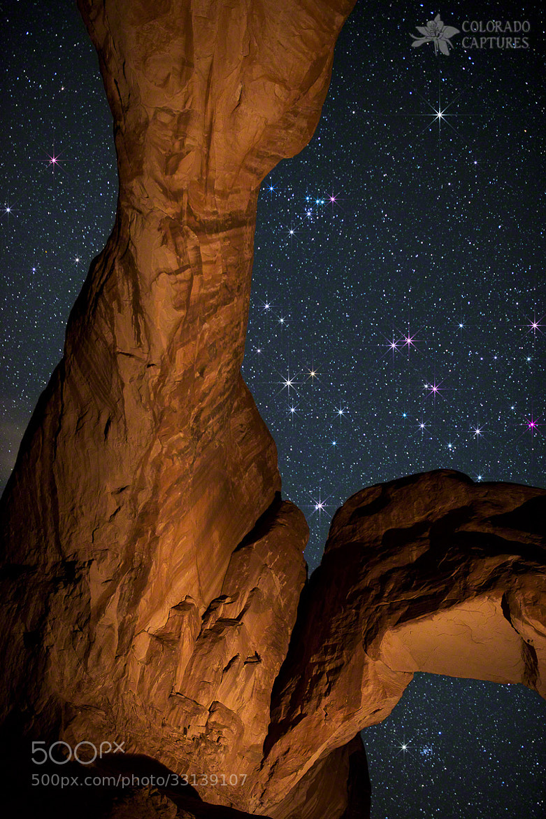 Photograph Deep Space Spectacle From Double Arch by Mike Berenson - Colorado Captures on 500px