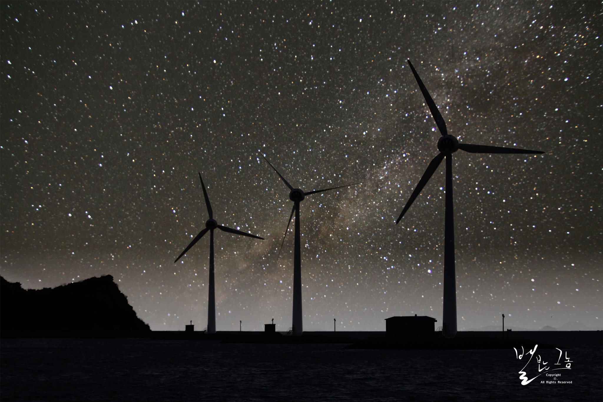 Photograph The Starlit Wind Power Plant. by Keun-Hong Park on 500px