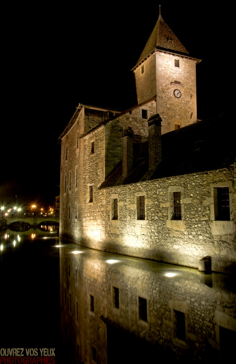 Photograph Annecy by night by Désiré RAMJEE  -PHOTOGRAPHIES- on 500px