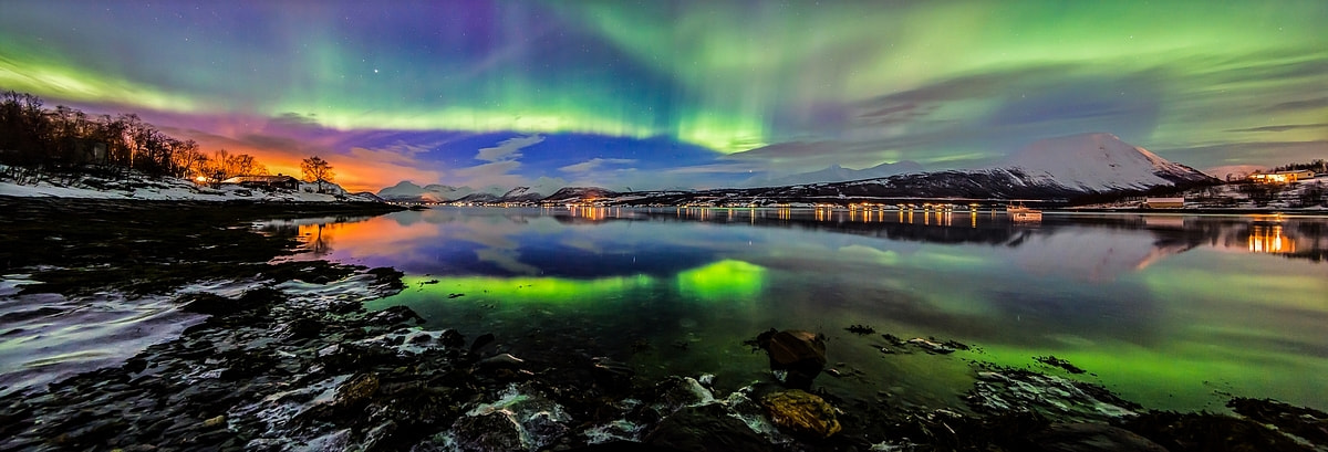 Photograph Northern light panorama by Joris Kiredjian on 500px