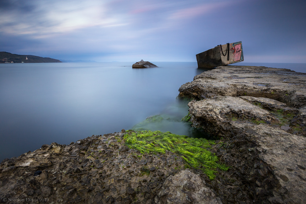 Photograph breakwater by Denis Sorokin on 500px