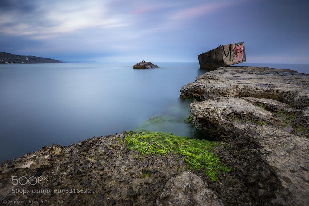 Photograph breakwater by Denis Sorokin on 500px