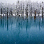 Biei in Hokkaido,Japan.