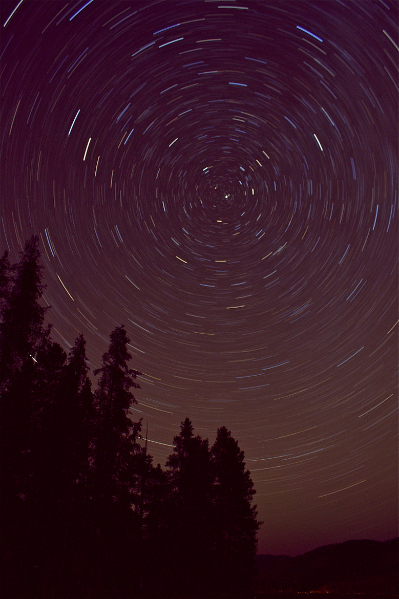 Photograph Mountain Stars  by Kory Ingersoll on 500px