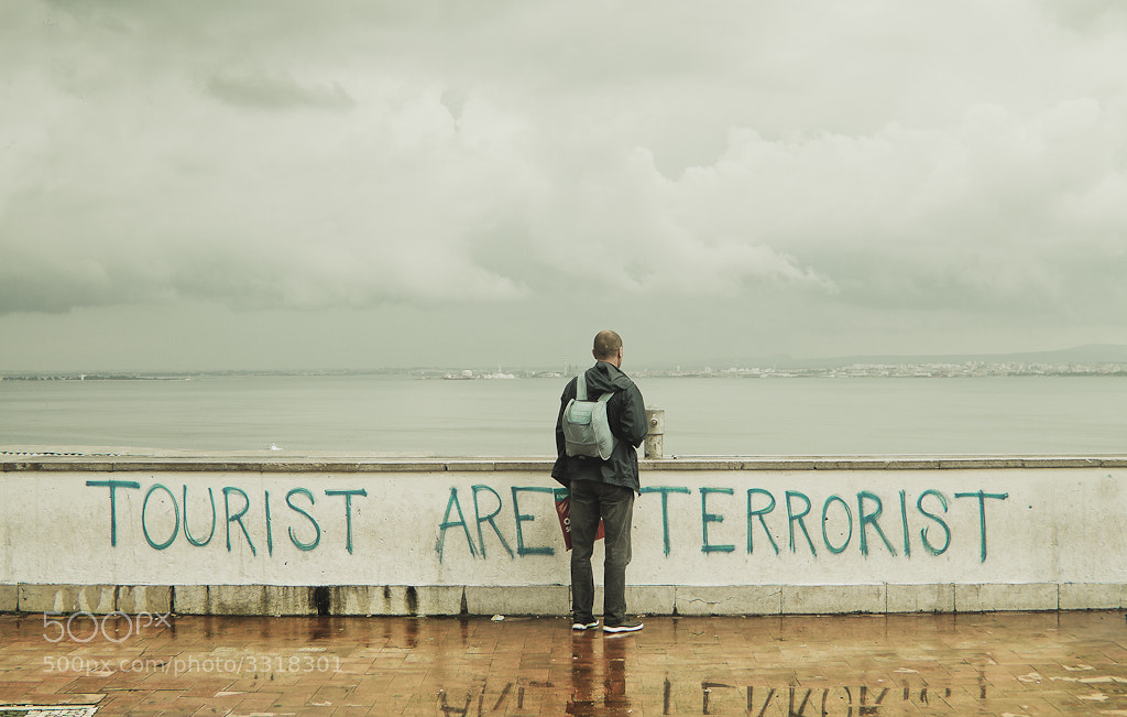 Photograph Tourist are terrorist by David Botella on 500px