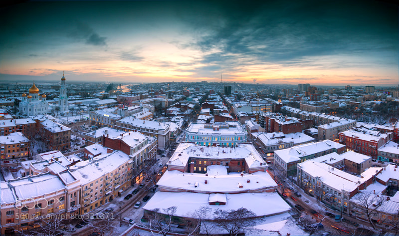 Photograph City roof by Denis Demkov on 500px