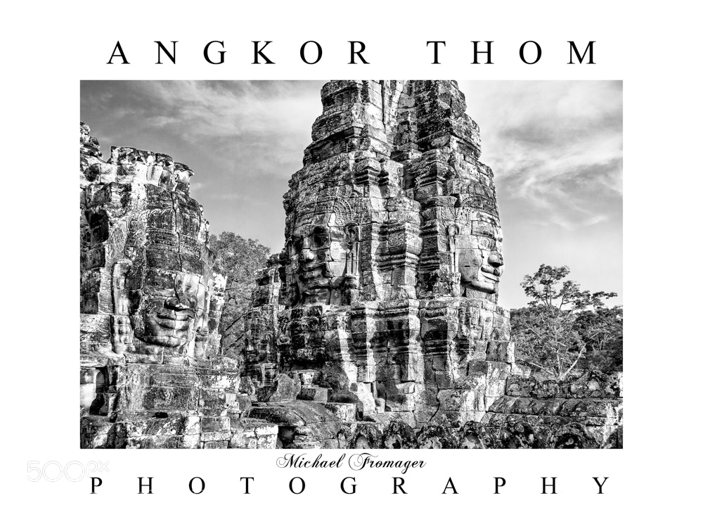 Photograph ANGKOR THOM 9 by Michael  Fromager on 500px