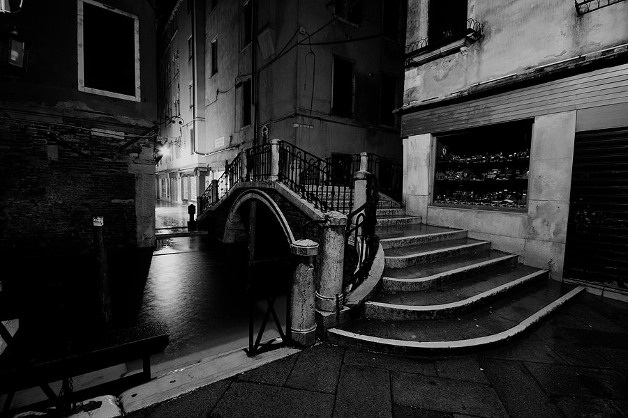 Photograph Darkness in Venice #3 by rspanov on 500px