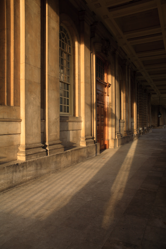 Early morning sunlight - Old Royal Naval College