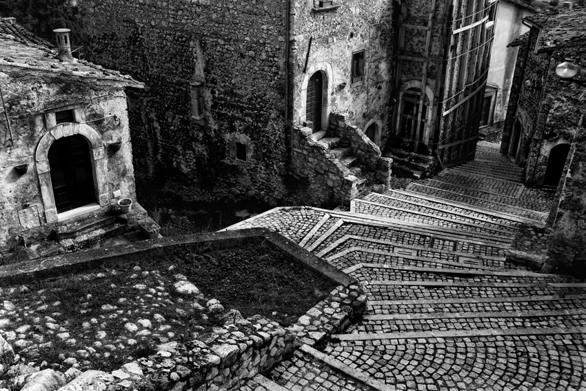 Photograph Paved Street by mario pignotti on 500px