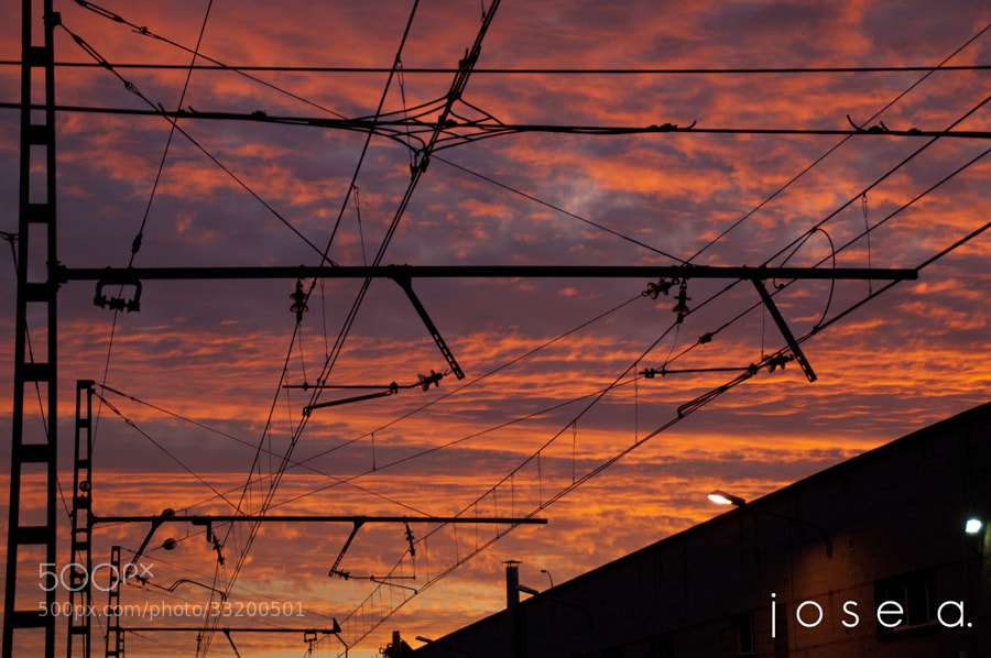 Photograph Dawning bewteen electricity by Jose A. B.N on 500px