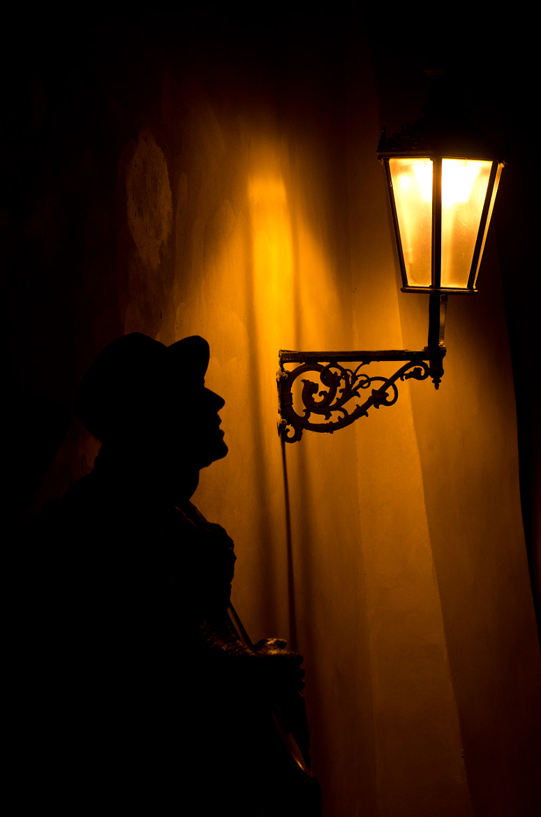 Photograph Lamplight, Prague. (Colour version). by Neil Hargreaves on 500px