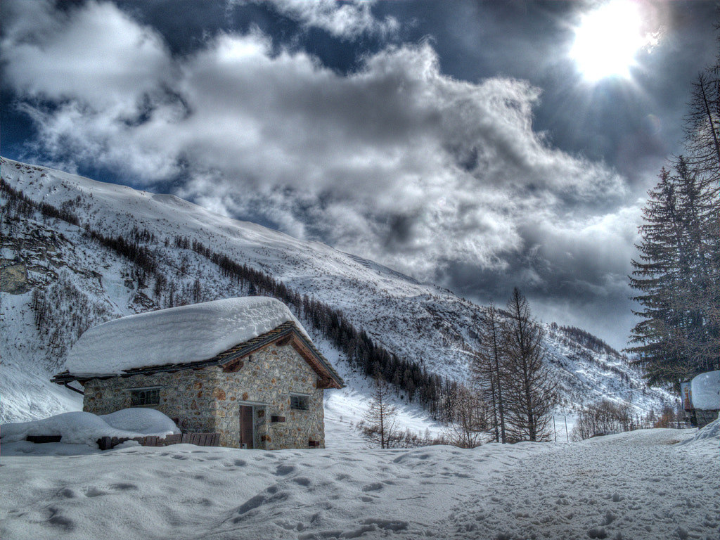 Photograph HDR on the snow by Michele Galante on 500px