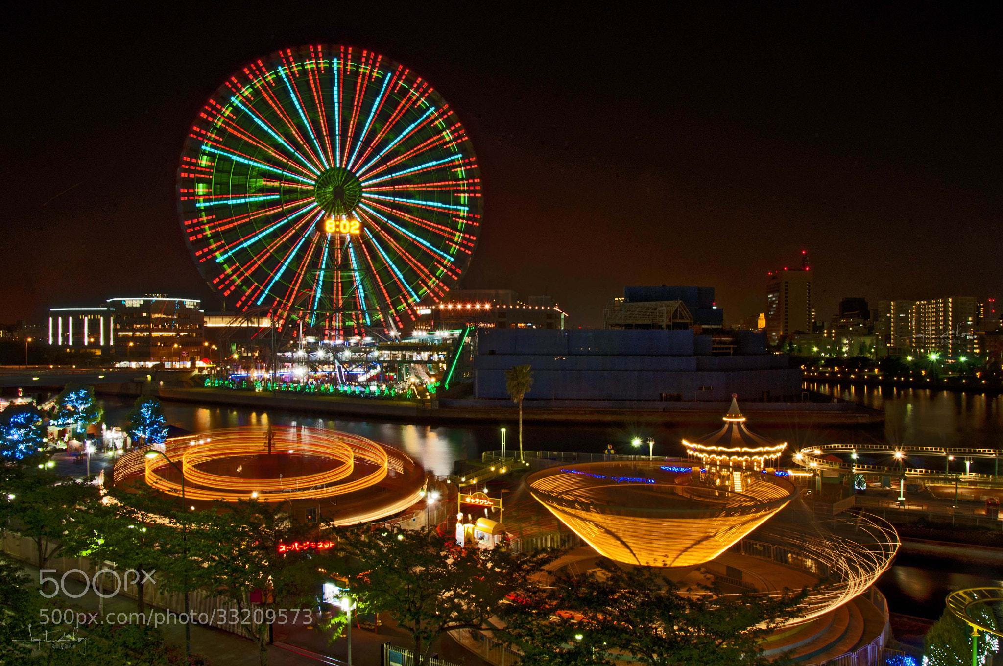 Photograph Yokohama giant wheel by Saptarshi Roy on 500px