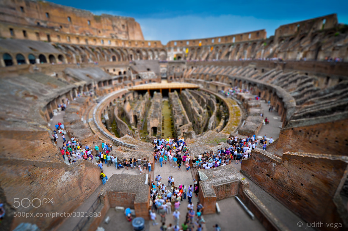 Photograph Colosseum, Rome by Judith Vega on 500px