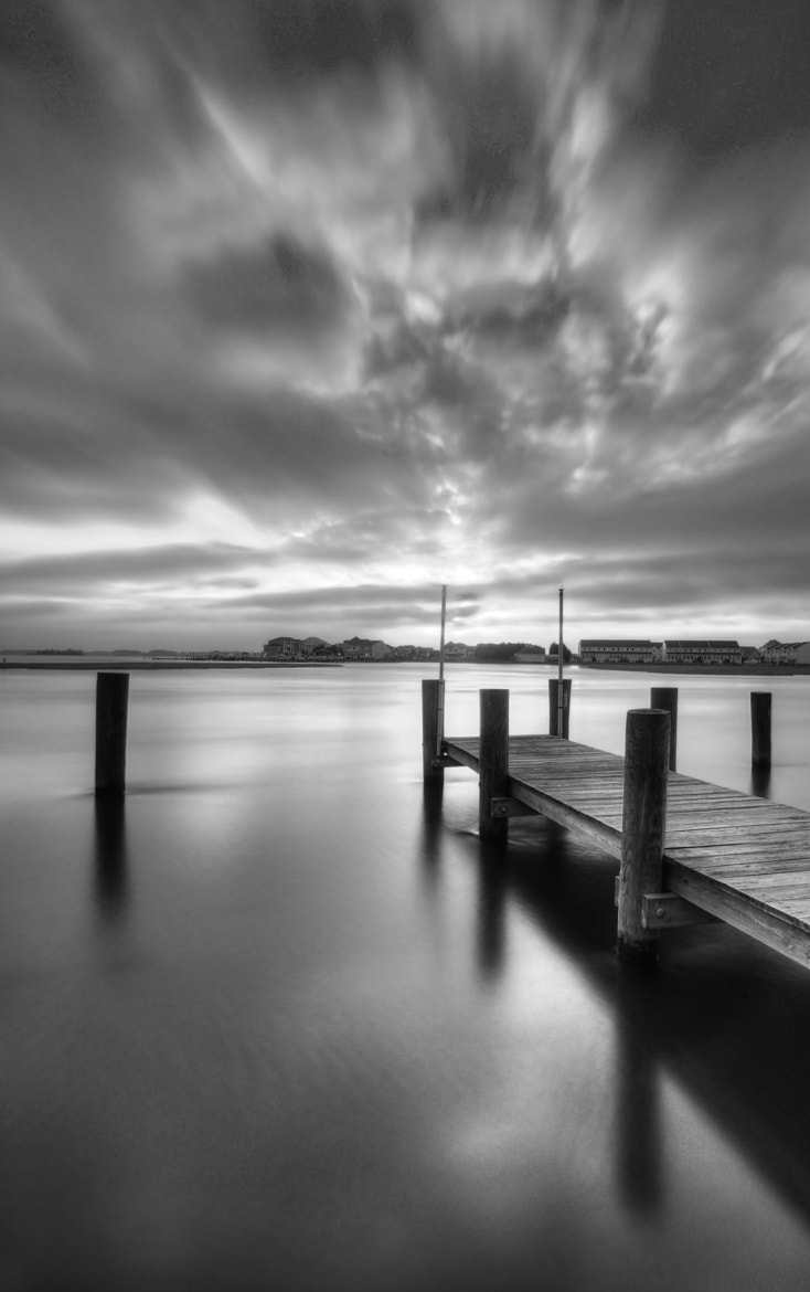 Photograph Movement and Light BW by Enkased  on 500px