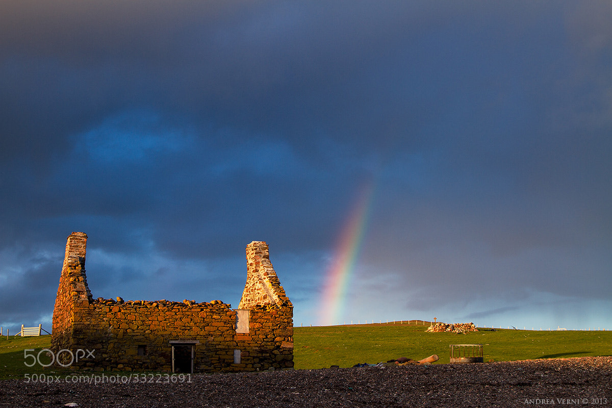 Photograph Shetland Rainbow by Andrea Verni on 500px