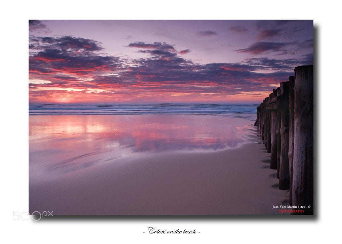 Photograph Colors on the beach by jean-yves martin on 500px