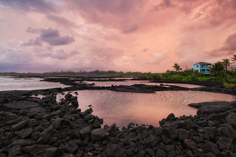 Photograph Sunrise at Kapoho Tidepools by Flux Photography on 500px