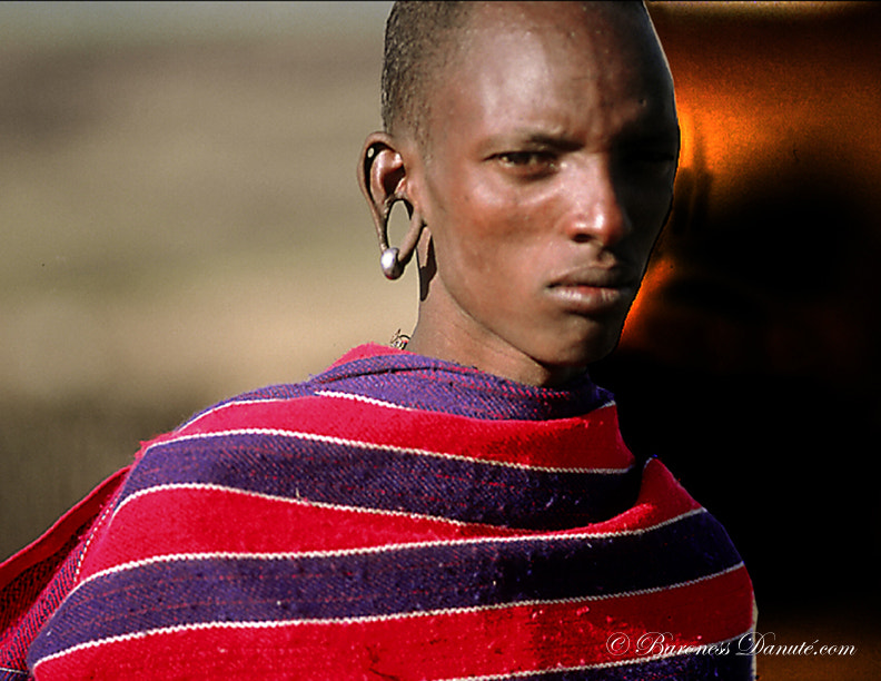 Photograph MAASAI EAR by Baroness on 500px