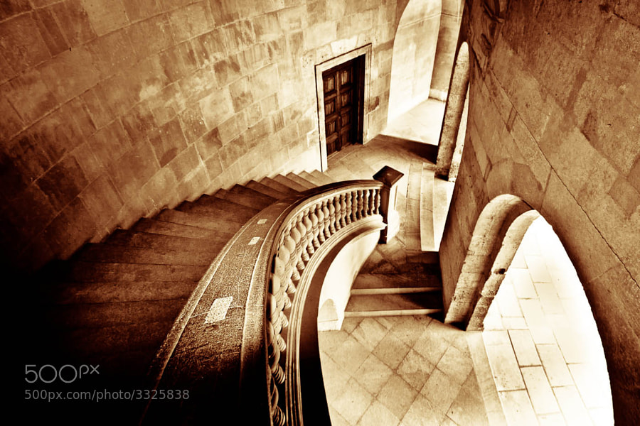 Photograph stairs of Carlos V Palace by Gregorio Izquierdo on 500px