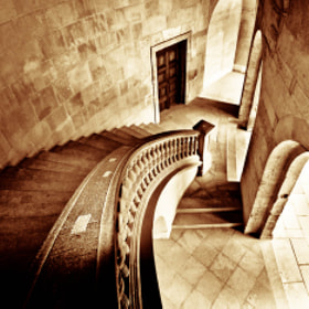 stairs of Carlos V Palace by Gregorio Izquierdo (grego62)) on 500px.com