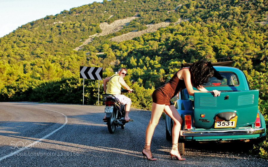 Photograph Fiat 500 by Robert Tarpescu on 500px