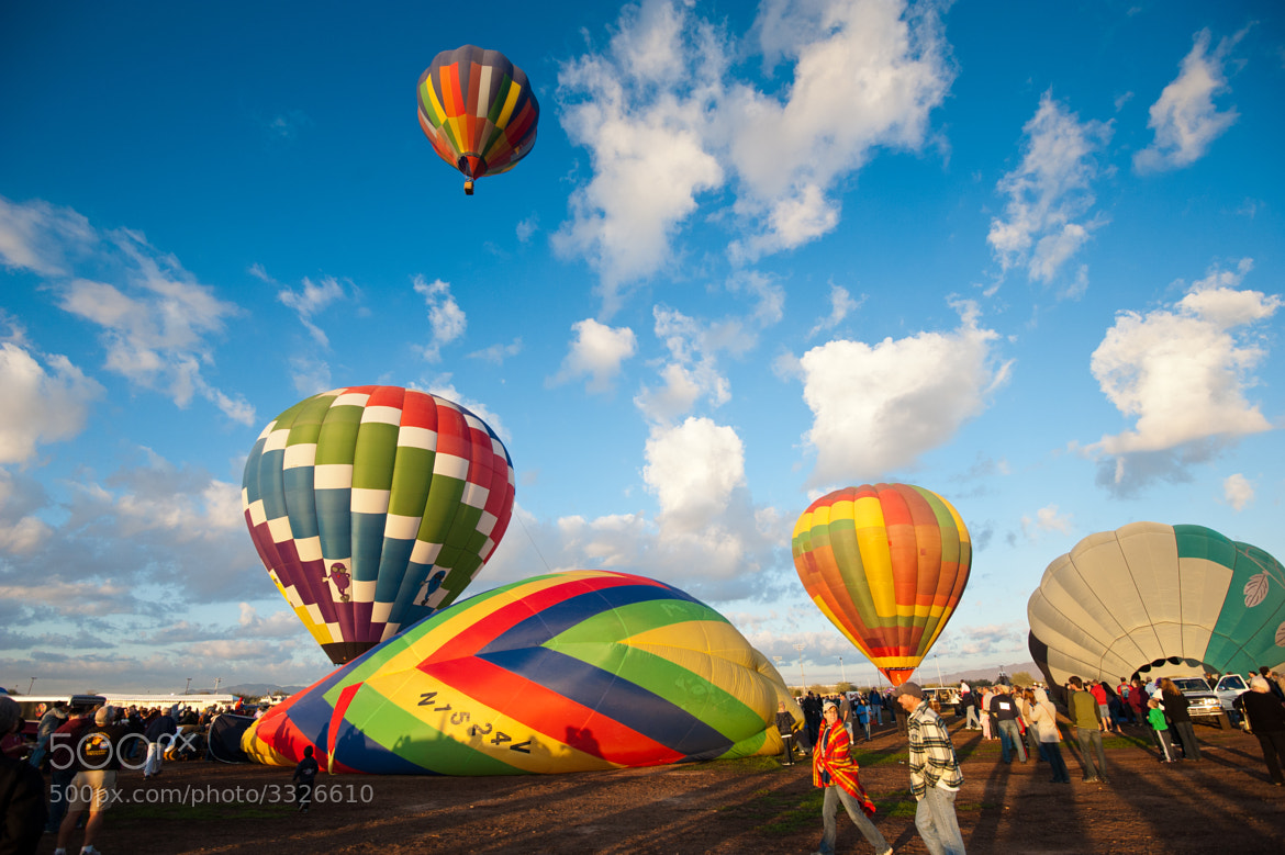 Photograph Arizona Balloon Classic 2011 #2 by Chuck Sowers on 500px