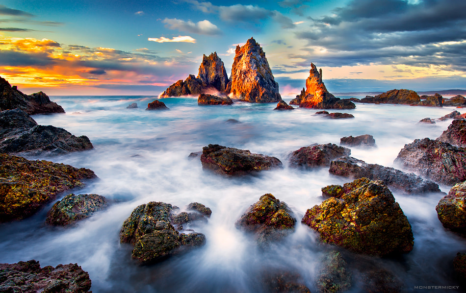 Photograph Three sisters @ Camel Rock Beach by MONSTERMICKY ! on 500px
